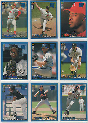 1995 Upper Deck Collectors Choice Baseball Team Sets **Pick Your Team**