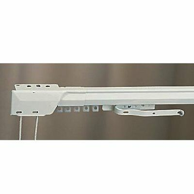 "66"" - 120"" One Way Draw Adjustable Traverse Curtain Rod - Left! (3238025)"