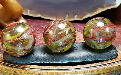 JABO & D.A.S. COLLECTORS, D.A.S. MARBLES HEARTLAND 2nd EDITION GOLD LUTZ OXBLOOD