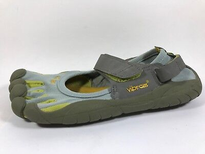 new product 1f0e7 7c13b Vibram FiveFingers Sprint Blue Barefoot Running Shoes Womens Sz 7.5 Eu 38