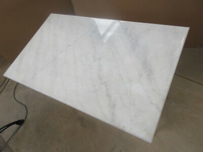 White Marble Table Top ONLY - suit your base 120x60cm Delivered Sydney SAVE $140