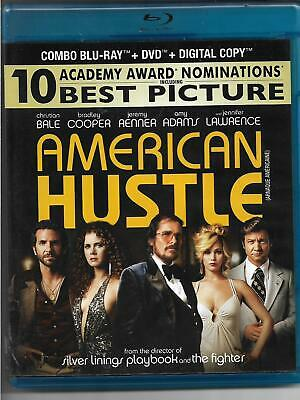 American Hustle! Bluray! Christian Bale! Bradley Cooper! Amy Adams! Crime! Drama