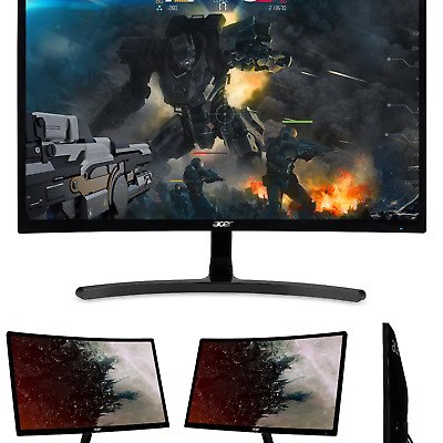 """Acer Gaming Monitor 23.6"""" Curved ED242QR Abidpx 1920 x 1080 144Hz Refresh Rat..."""