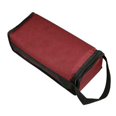 Red Wine Insulated Bag 2-Bottle Carrier Tote Gift Bag Ice Cooler Wine Holder AU!