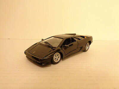 Maisto Black Lamborghini Diablo 1 24 Scale Diecast Vehicle Car