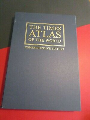 Folio Society :   The Times Comprehensive Atlas Of The  World