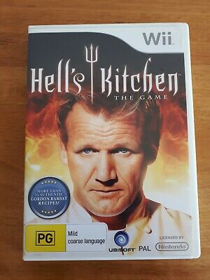 Nintendo Wii Game - Hell's Kitchen: The Game