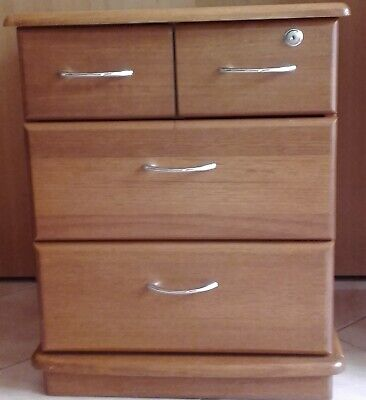 Timber Drawers/Cabinet , 4x , clean, chunky & solid, quality.