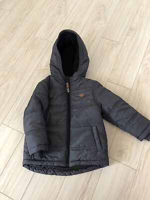 Toddler Boys Winter Puffer Jacket Size 2