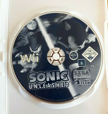 Nintendo Wii Game - Sonic Unleashed (Disc Only)