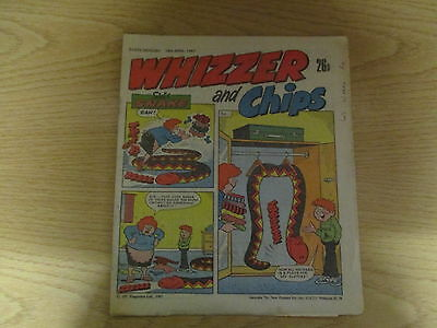 April 1987, WHIZZER & CHIPS, Simon Hull, James Moles, Tim Burke, Paul Whatley.