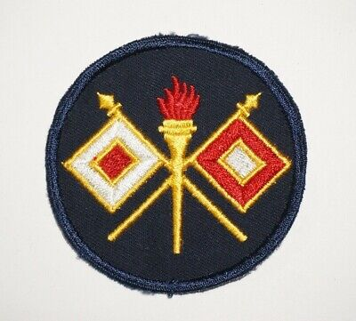 Signal Corps Twill Patch WWII US Army P8964