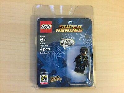 SDCC 2018 LEGO DC Comics Super Heroes Black Lightning Minifigure Exclusive