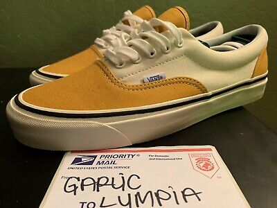 33bb05964c VANS ERA 95 DX (Anaheim Factory) OG Saffron White Size US 10 Men s ...