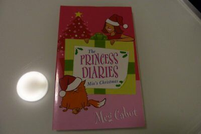 PRINCESS DIARIES mias christmas little book  - much cheaper post option