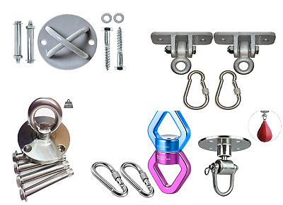 LABABE Hanging Devices Rotational, Speed Ball, Bracket Hooks and Swing Hangers
