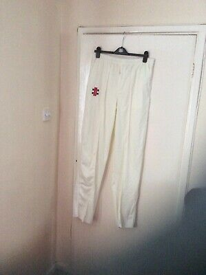 Gray-Mcolls Mens Cricket Trousers. L