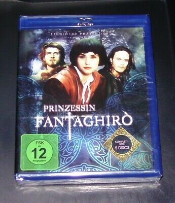 Princess Fantaghiro Komplettbox all 10 Episodes Blu Ray New & Sealed