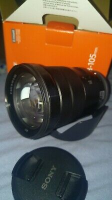 Sony E PZ 18-105mm F4 G OSS Lens for Sony e mount, immaculate condition