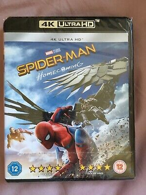 Spider-Man Homecoming 4K Ultra HD brand new sealed