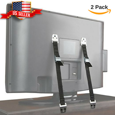Baby Safety Furniture,TV Anti Tip Wall Adjustable Straps Anchors Child Proofing