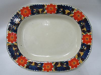 Titan Ware Adams Royal Ivory Brocade Ceramic China Plate Charger Platter
