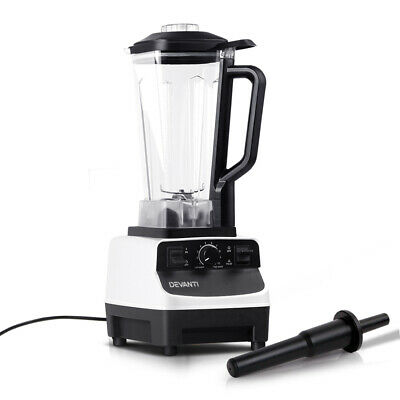Devanti Commercial Blender Mixer Juicer Food Processor Smoothie Ice Crush WH