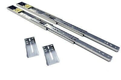 """14"""" Full Extension Push to Open Ball Bearing Drawer Slide with Rear Bracket (10)"""