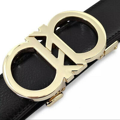 WOMENS DESIGNER BELTS NEW DOUBLE a  AUTOMATIC LEATHER BELT FOR LADIES GIFT WOMEN