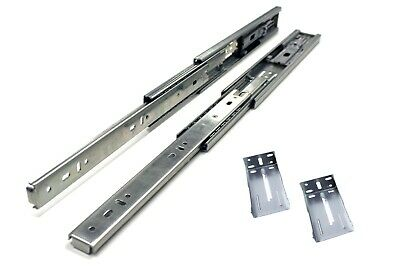 """10"""" Full Extension, Soft Close, Ball Bearing Drawer Slide with Rear Bracket (10)"""