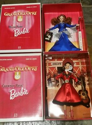 Country Rose BARBIE & Rising Star BARBIE DOLL COLLECTOR EDITION NRFB 17782 17864