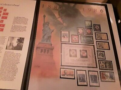 US OLD Statue of Liberty MNH Mint Never Hinged Stamps in Large Fleetwood Folder