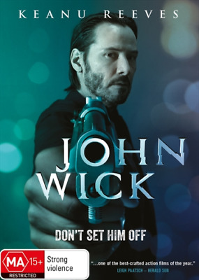 John Wick (DVD, 2015) - FREE POST