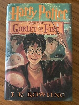 Harry Potter And The Goblet Of Fire book, 1st American Ed. 23 July 2000.