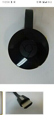 Google Chromecast (2nd Generation)Video Smart Box Media Streamer - Black