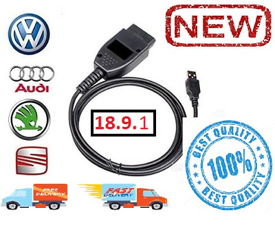 18.9.1 Vcds 2019 Diagnostic Tool For Audi Vw Hex Can Usb