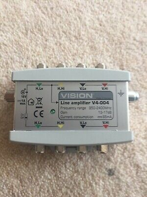 Vision V4-004 4-wire Line Amplifier