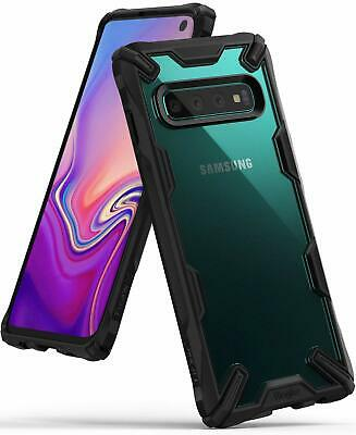 Samsung Galaxy S10/Plus/S10e Case Ringke Fusion X Slim Hard Clear Bumper Cover