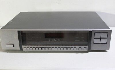 Carver TX-11 Quartz-Synthesized Asymmetrical Charge-Coupled FM Stereo Tuner