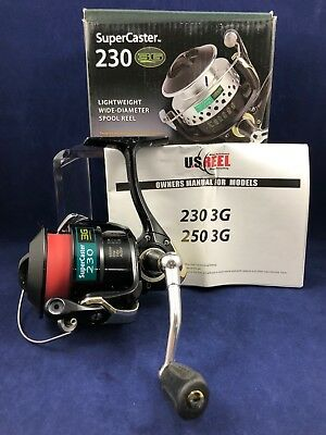 U S  REEL - SuperCaster 230XL - Spinning Fishing Reel *Parts