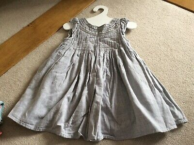 Beautiful girls next occasion dress - pretty pleated design with embroidery