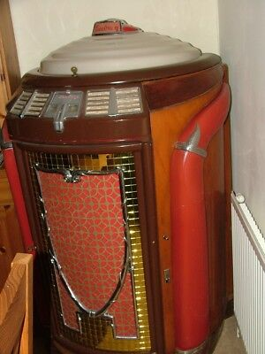 Seerburg Trashcan 1946-47 Jukebox not ami,wurlitzer ,American bar,games room