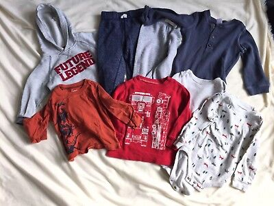 Lots Of Boys 12-18 Months Clothes Baby/Toddler Carters Long Sleeve Sweatshirt