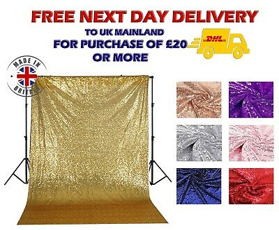 Sequin Backdrop Photoshoot Booth Background Wedding Hanging Silver Rose Gold
