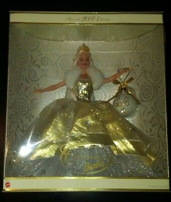 Celebration Barbie Special Edition Holiday 2000 Christmas  New in Box #28269