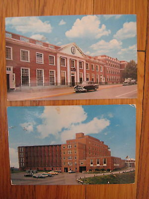 vtg 1962 Soldiers Home Chelsea MA Quigley Hospital 2 POSTCARD Boston Gloucester