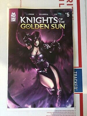 Knights Of The Golden Sun #5 Cover A 1st Print Mad Cave Comics 2019 🔥🔥🔥🔥