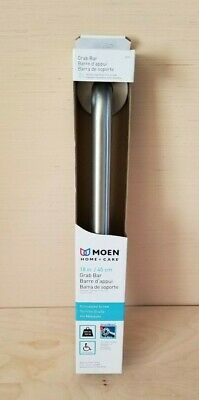 "Moen Stainless 18"" Grab Bar Stainless L8718 NEW IN BOX Free Shipping"
