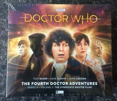 Doctor Who The Fourth Doctor Adventures Series 8 Vol 2 Big Finish