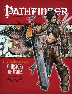 The Crimson Throne A History Of Ashes Pathfinder RPG Adventure Path Game Book 10